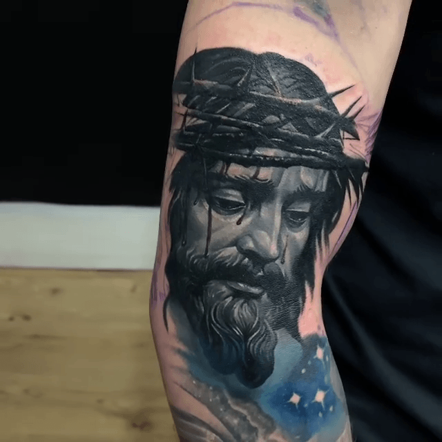 Jesus Christ Custom Tattoo Art